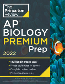 Princeton Review AP Biology Premium Prep, 2022