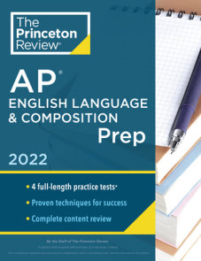 Princeton Review AP English Language & Composition Prep, 2022