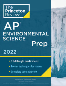 Princeton Review AP Environmental Science Prep, 2022