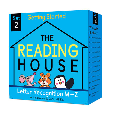 The Reading House Set 2: Letter Recognition M-Z by Marla Conn