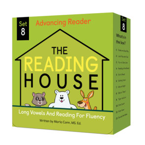 The Reading House Set 8: Long Vowels and Reading for Fluency