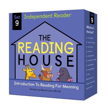 The Reading House Set 9: Introduction to Reading for Meaning by The Reading House,Marla Conn