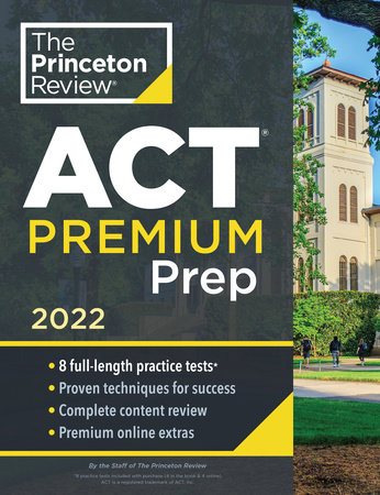 Princeton Review ACT Premium Prep, 2022