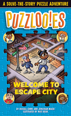 Puzzlooies! Welcome to Escape City by Russell Ginns