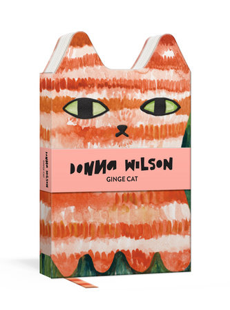 Ginge Cat Critter Journal by Donna Wilson