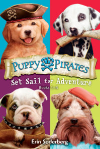 Puppy Pirates: Set Sail for Adventure (Books 1-4)