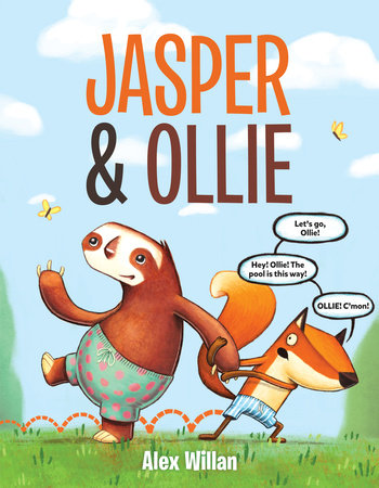 Jasper & Ollie by Alex Willan