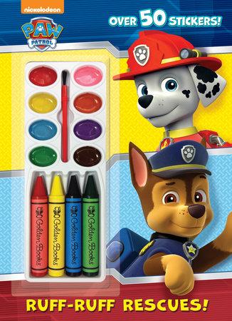 Ruff-Ruff Rescues! (Paw Patrol) by Golden Books