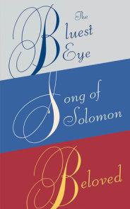 Toni Morrison Essential Novels Box Set: Beloved, The Bluest Eye, Song of Solomon