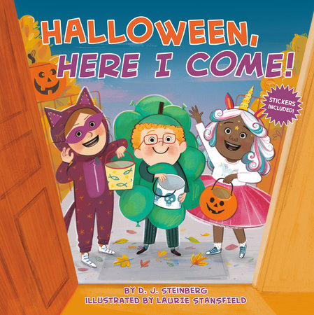 Halloween, Here I Come! by D.J. Steinberg