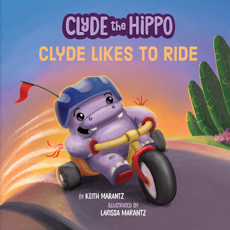Clyde Likes to Ride by Keith Marantz