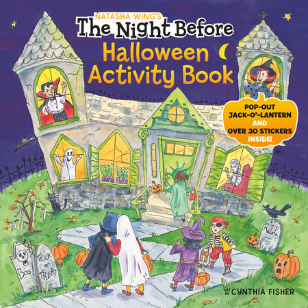 The Night Before Halloween Activity Book by Natasha Wing