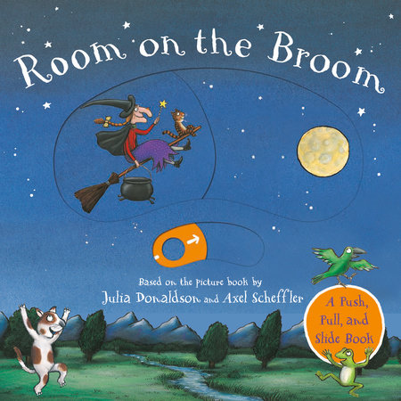Room on the Broom Push-Pull-Slide by Julia Donaldson