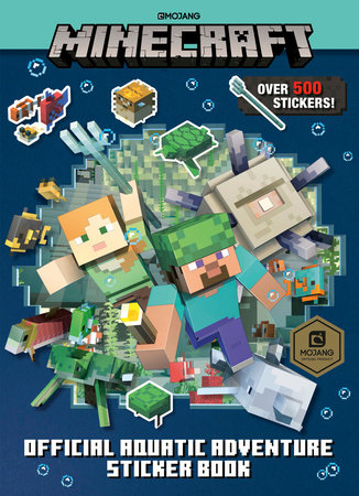 Minecraft Official Aquatic Adventure Sticker Book (Minecraft) by Stephanie Milton