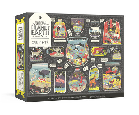 The Wondrous Workings of Planet Earth Puzzle by Rachel Ignotofsky