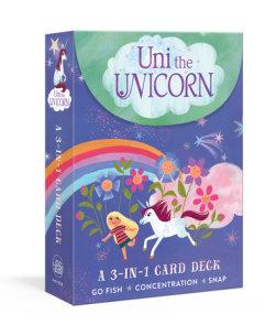 Uni the Unicorn: A 3-in-1 Card Deck