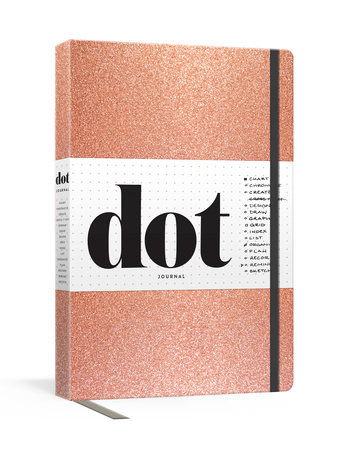 Dot Journal (Rose Gold) by Potter Gift