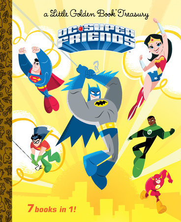 DC Super Friends Little Golden Book Treasury (DC Super Friends) by Golden Books