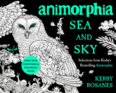 Animorphia Sea and Sky by Kerby Rosanes