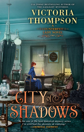 City of Shadows by Victoria Thompson