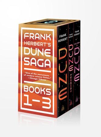 Frank Herbert's Dune Saga 3-Book Boxed Set by Frank Herbert