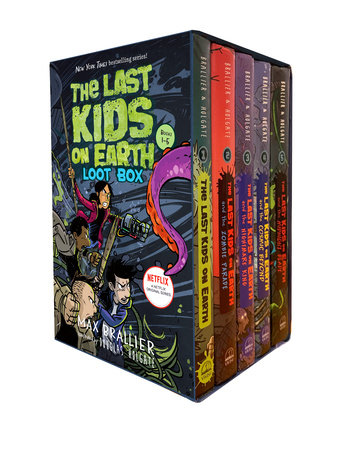 The Last Kids on Earth Loot Box by Max Brallier