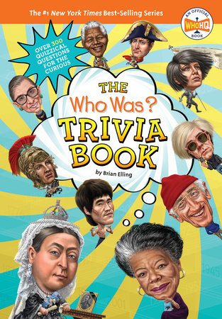 The Who Was? Trivia Book by Brian Elling and Who HQ