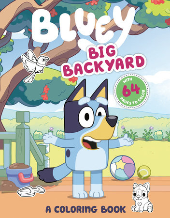 Big Backyard: A Coloring Book by Penguin Young Readers Licenses