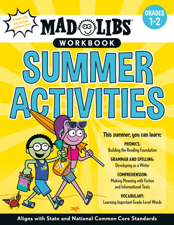 Mad Libs Workbook: Summer Activities by Catherine Nichols and Mad Libs