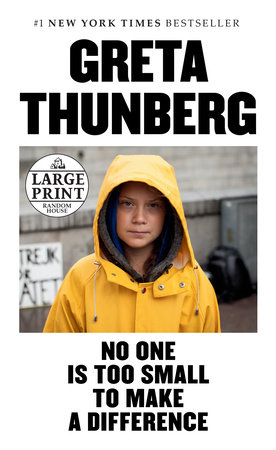 No One Is Too Small to Make a Difference Deluxe Edition by Greta Thunberg