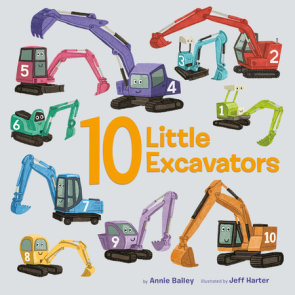 10 Little Excavators