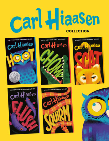 Carl Hiaasen 5-Book Collection by Carl Hiaasen