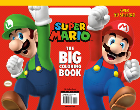 Super Mario: The Big Coloring Book (Nintendo) by Random House