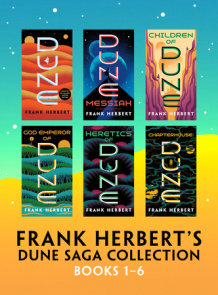 Frank Herbert's Dune Saga Collection: Books 1 - 6