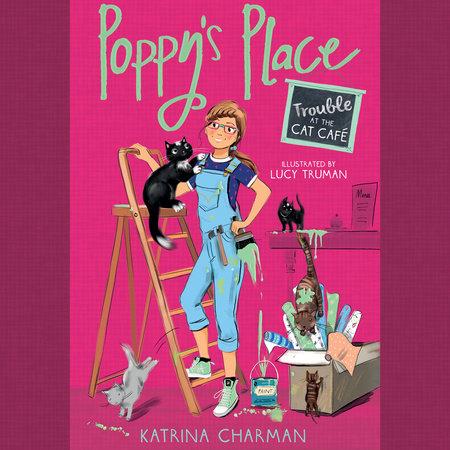 Trouble at the Cat Café by Katrina Charman