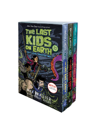 The Last Kids on Earth: Next Level Monster Box (books 4-6) by Max Brallier