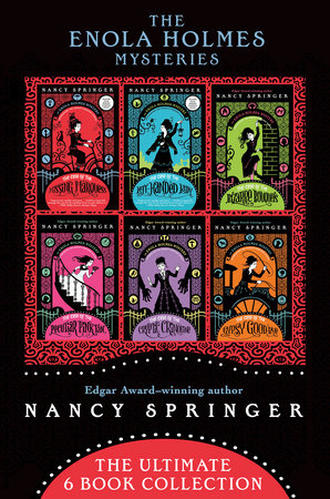 The Enola Holmes Mysteries by Nancy Springer