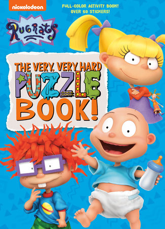 The Very, Very Hard Puzzle Book! (Rugrats) by Golden Books
