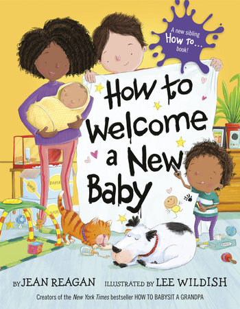 How to Welcome a New Baby by Jean Reagan
