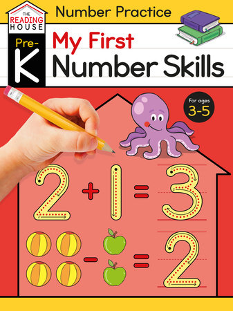 My First Number Skills (Pre-K Number Workbook) by Marla Conn and The Reading House