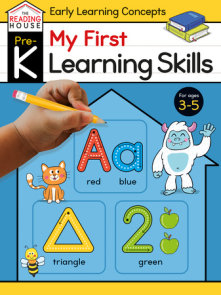 My First Learning Skills (Pre-K Early Learning Concepts Workbook)