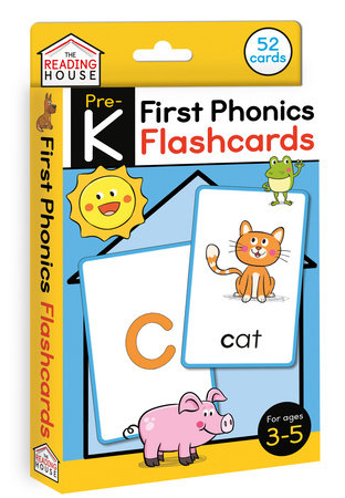 First Phonics Flashcards by Marla Conn and The Reading House