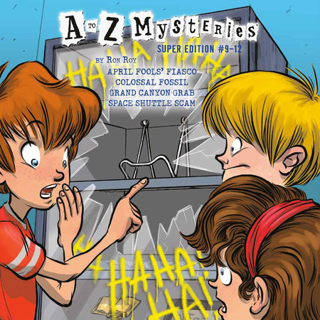 A to Z Mysteries Super Editions #9-12 by Ron Roy