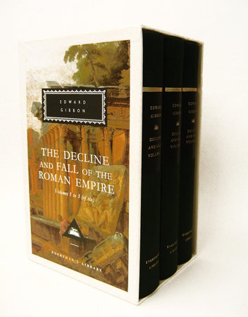 The Decline and Fall of the Roman Empire, Volumes 1 to 3 (of six) by Edward Gibbon