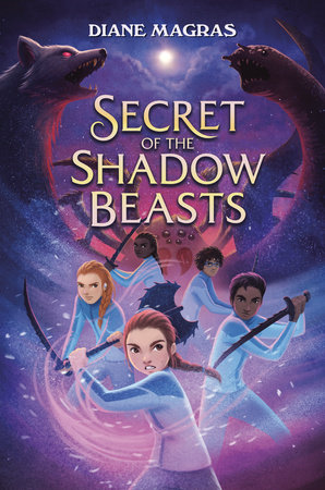 Secret of the Shadow Beasts by Diane Magras