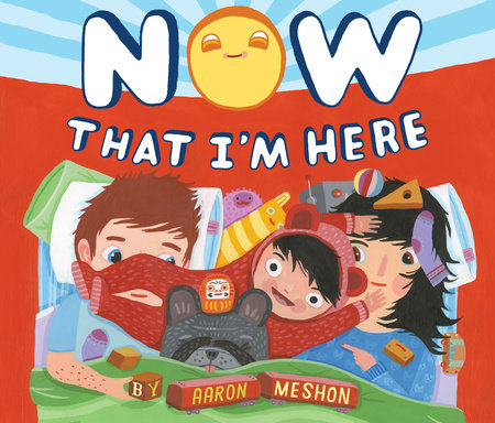 Now That I'm Here by Aaron Meshon