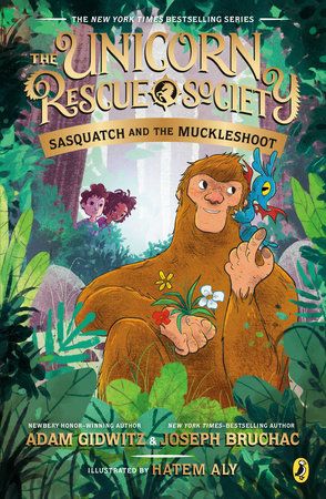 Sasquatch and the Muckleshoot by Adam Gidwitz,Joseph Bruchac