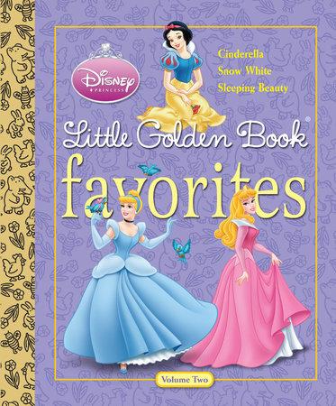 Disney Princess Little Golden Book Favorites Volume 2 (Disney Princess) by Michael Teitelbaum