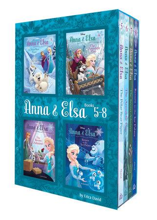 Anna & Elsa: Books 5-8 (Disney Frozen) by Erica David