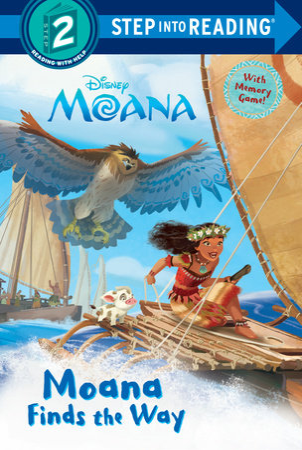 Moana Finds the Way (Disney Moana) by RH Disney